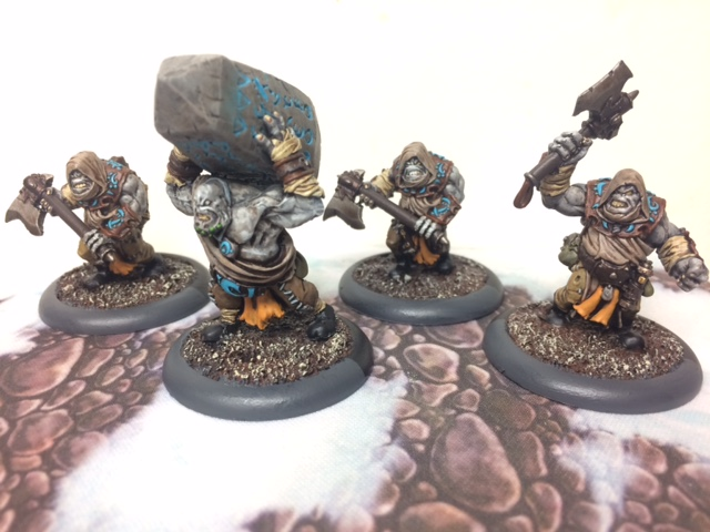 1 Trollkin Krielstone Bearer and Stone Scribes Unit