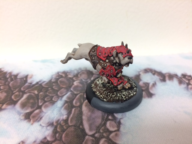 6 Khador War Dog