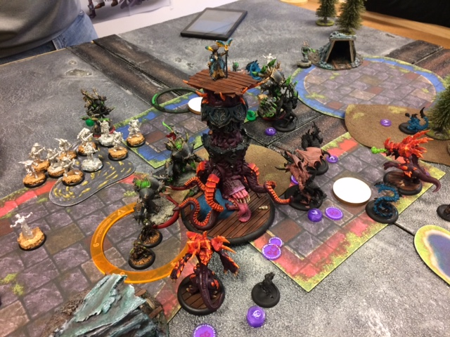 4 Legion of Everblight Vayl1 vs Scaverous