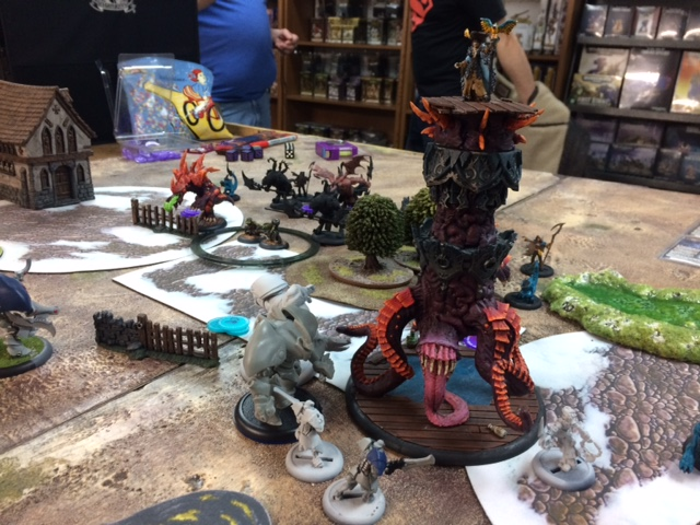 5 Legion of Everblight Thagrosh2 vs Issyria