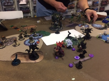 8 Legion of Everblight Lylyth2 vs Skarre1