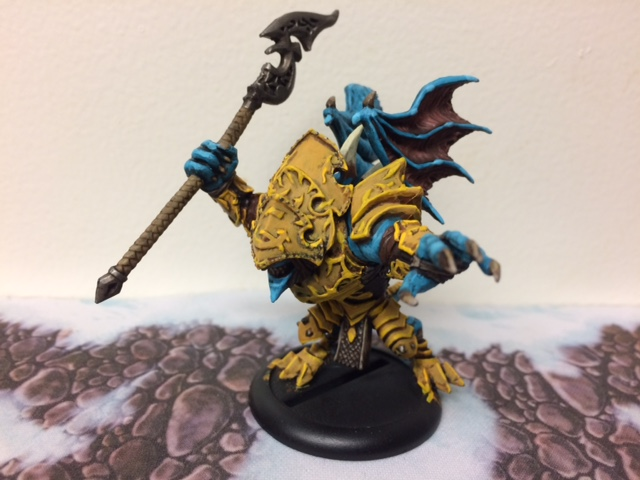1 Legion of Everblight Nephilim Bloodseer