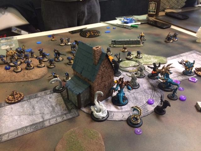 2 Legion Lylyth2 vs Cygnar Caine1