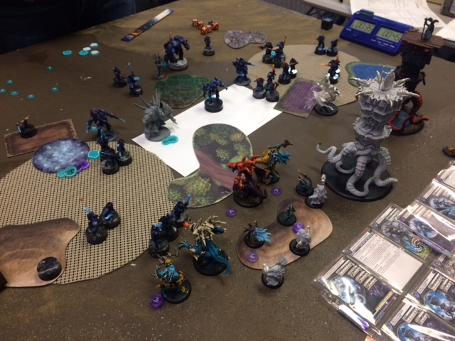 4 Legion of Everblight Lylyth1 vs Retribution Issyria