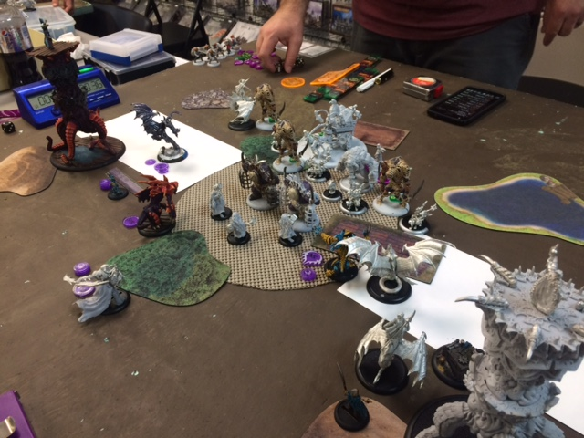 5 Legion of Everblight Thagrosh1 vs Grymkin Child