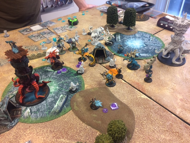 6 Legion of Everblight Lylyth1 vs Retribution Helynna
