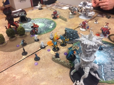 7 Legion of Everblight Lylyth1 vs Khador Sorscha2