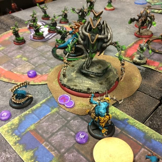 9 Legion Lylyth2 vs Cryx Asphyxious2 Gaspy2