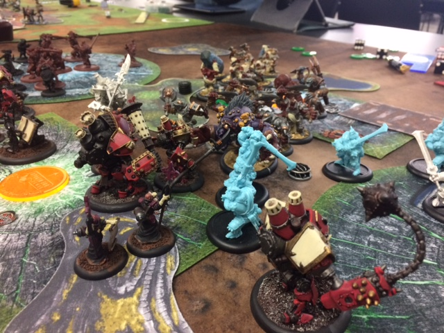 2 Protectorate of Menoth Severius2 vs Trollbloods Madrak1