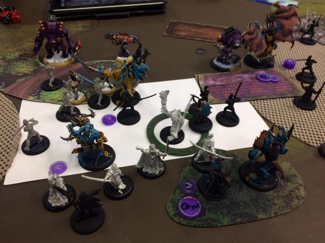 3 Legion Fyanna2 vs Khador Strakov1