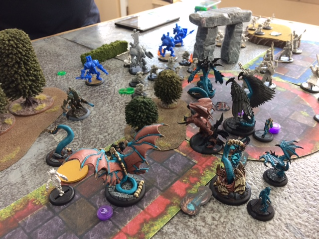 1 Thagrosh2 Legion of Everblight vs Caine2 Cygnar