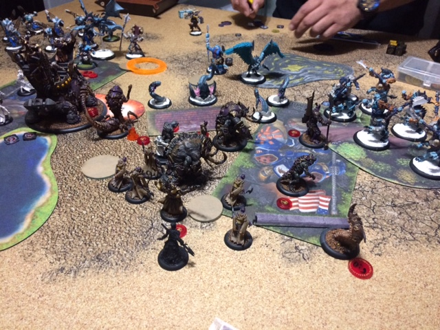 1 Hexeris2 Skorne vs Anamag Legion of Everblight