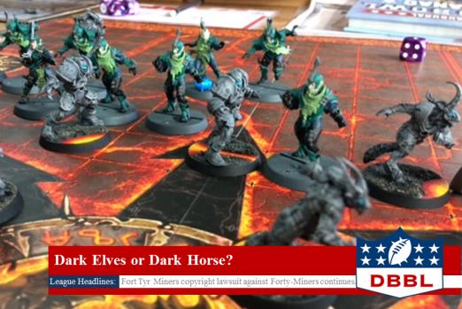 Blood Bowl League Dark Elves