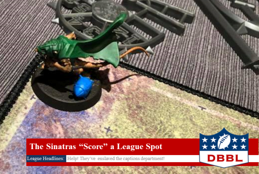 Blood Bowl Skaven Touchdown
