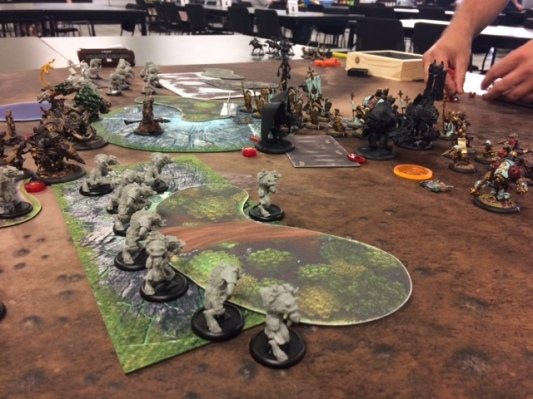 Skorne Minions Morghoul2 vs Protectorate of Menoth Feora1