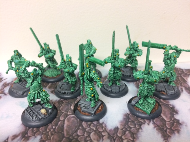 1 Skorne Immortals Jade Color Scheme