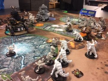 Minions Maelok vs Mercenaries Ossrum