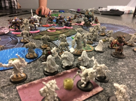 Minions Midas versus Cryx Venethrax