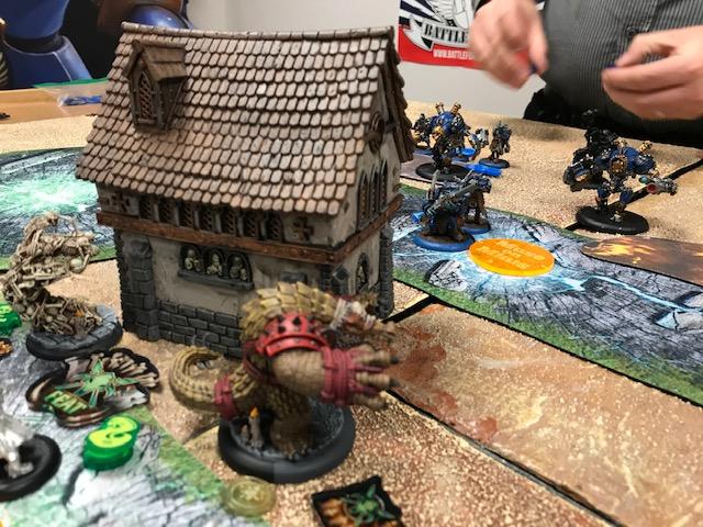 Minions Rask vs Cygnar Siege2
