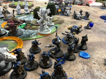 2 Minions Barnabas2 vs Cygnar Maddox
