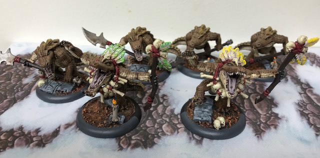Hordes Minions Gatormen Posse Minimum Posse Maelok List
