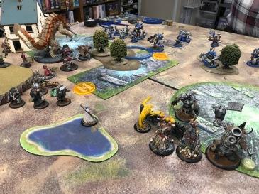 Minions Sturm and Drang vs Cygnar Siege1