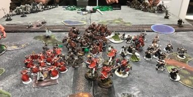 Winter Rampage 1 Khador vs Circle