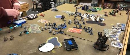 Winter Rampage 2 Cygnar versus Skorne