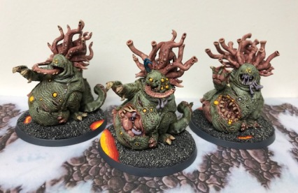 Nurgle Daemons Beasts of Nurgle