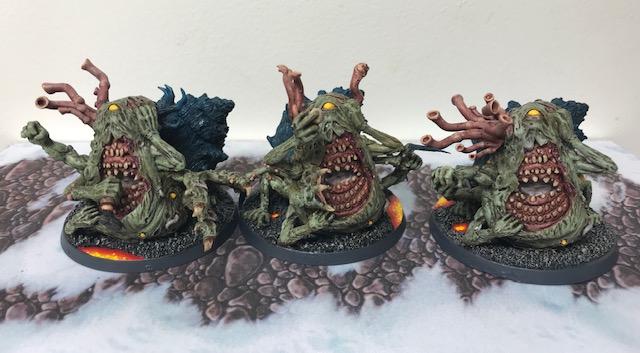 Nurgle Beasts of Nurgle Kromlech Alternative Sculpt