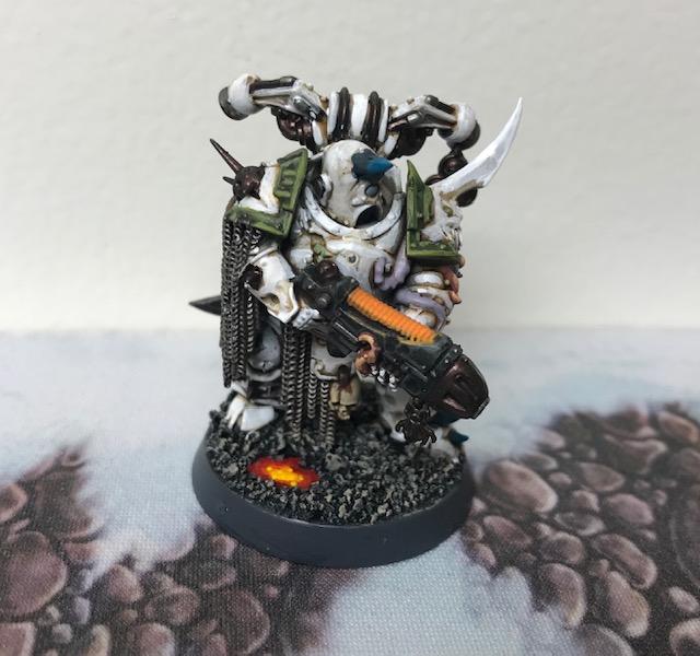 Nurgle Death Guard Sample Paint Scheme