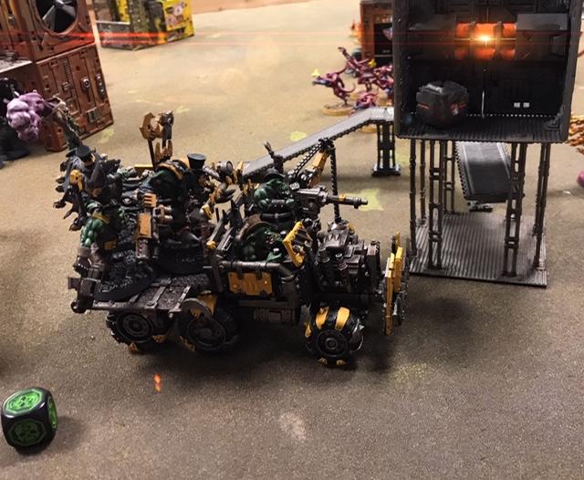 Orks vs Tzeentch Daemons 1