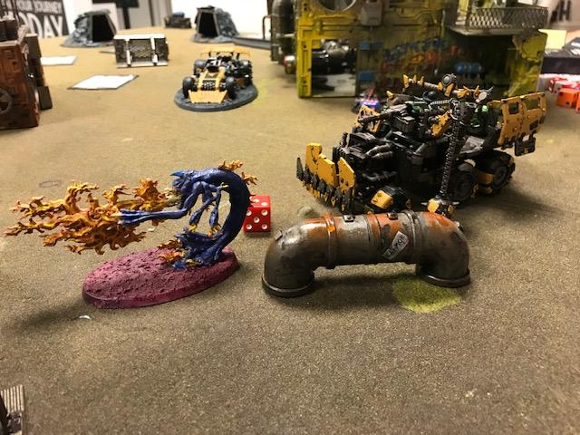Orks vs Tzeentch Daemons 3
