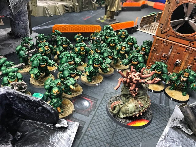 Daemonic Invasion at Drawbridge Games