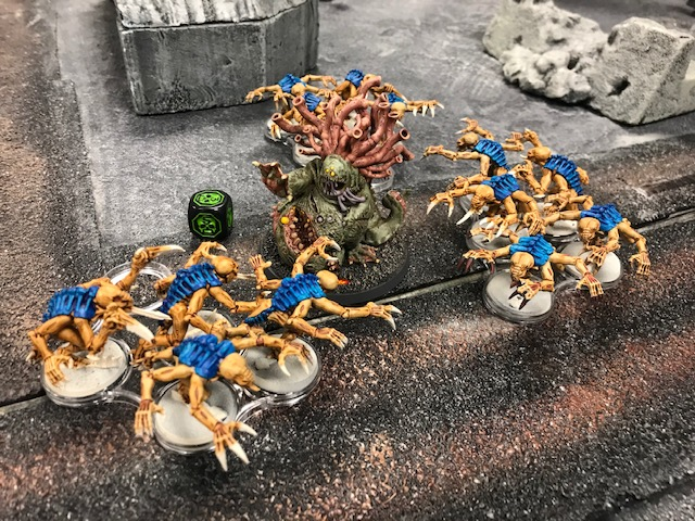 1 40k Death Guard Beast of Nurgle versus Tyranids