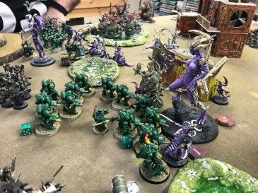 1 40k Slaanesh versus Salamanders