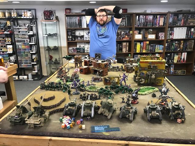 1 40k Tanks Arrayed against Daemons