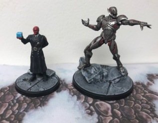 Marvel Crisis Protocol Red Skull and Ultron