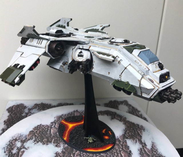 Death Guard Fire Raptor Assault Gunship