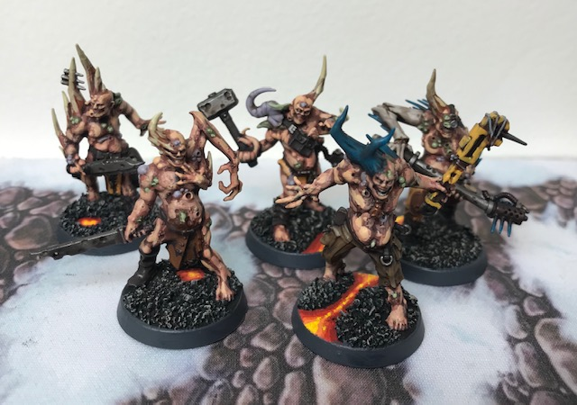 Death Guard Poxwalkers 2