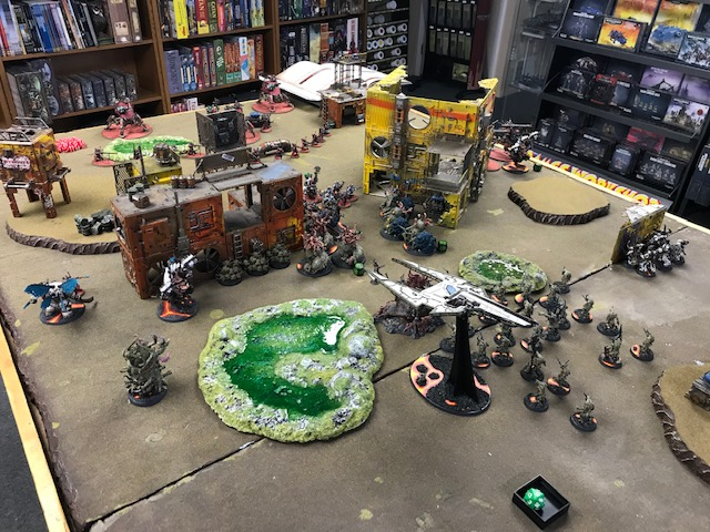 Death Guard v AdMech 1