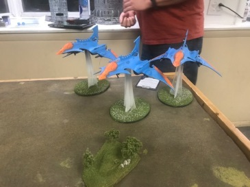 Future Cleveland Flyer Battle Eldar Side