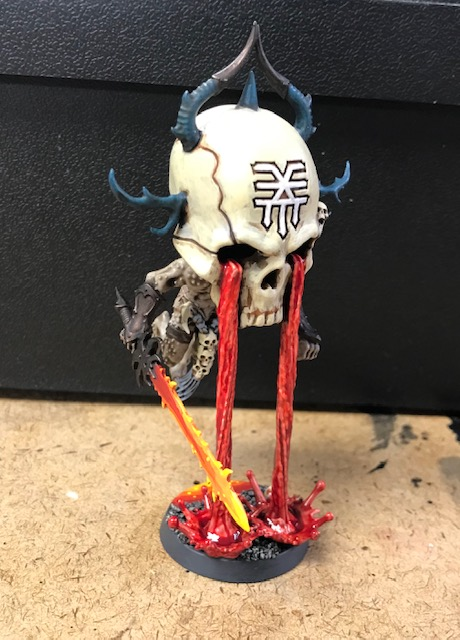 Chaos Daemons 40k Herald of Khorne Bloodmaster Conversion