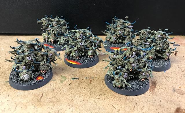 Chaos Daemons 40k Nurglings